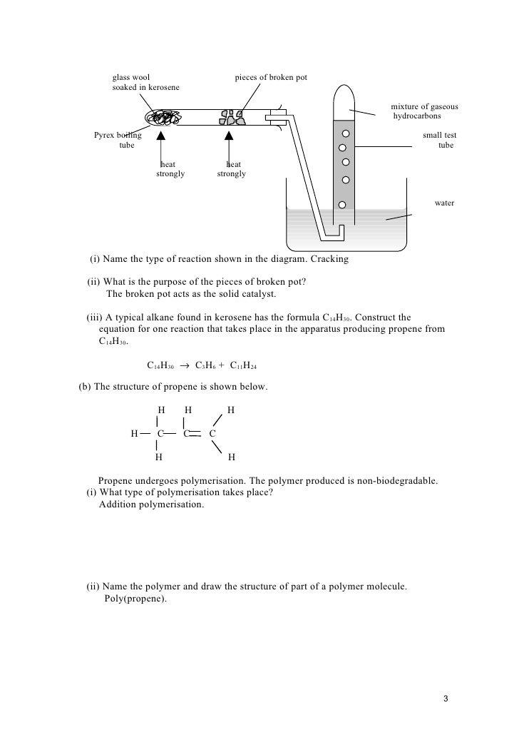Macromolecule worksheet