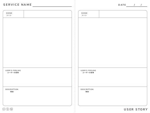 ux design x marketing workshop worksheet templates