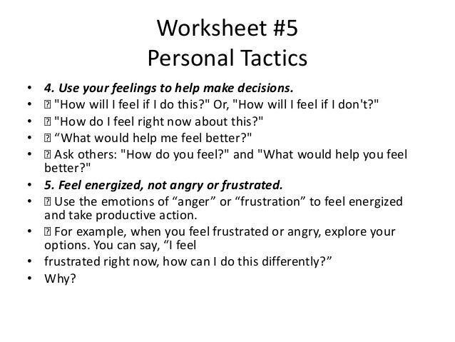 Worksheets – Feelings Worksheets