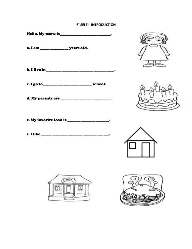 Worksheets 6°