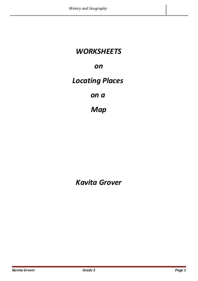 worksheets on locating places on a map geography and history. Black Bedroom Furniture Sets. Home Design Ideas