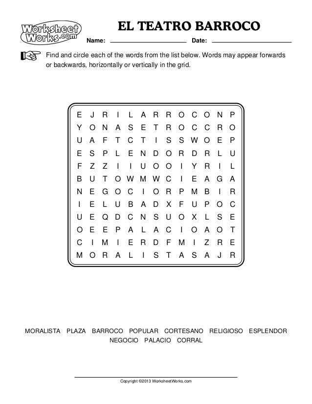 Worksheets Worksheet Works worksheet works word search 2