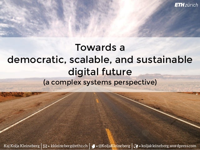 Technology Management Image: Towards A Democratic, Scalable, And Sustainable Digital