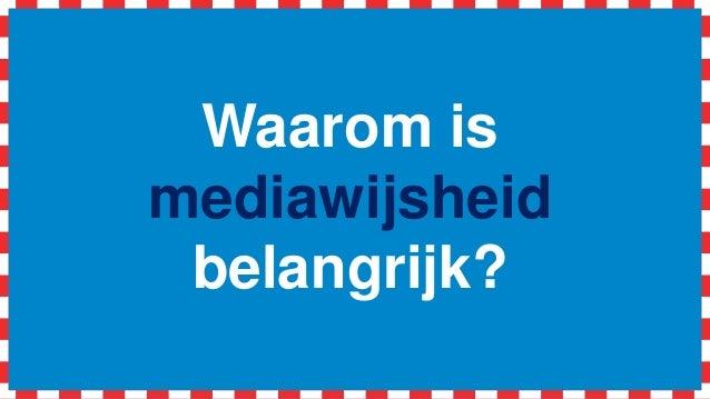 Workshop aan de slag met '#mediawijsheid in de klas' (vecon) Slide 2