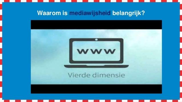 Workshop aan de slag met '#mediawijsheid in de klas' (vecon) Slide 3