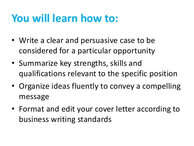 How to Write A Cover Letter That Gets Results