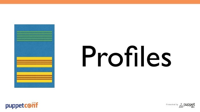 Profiles  Presented by