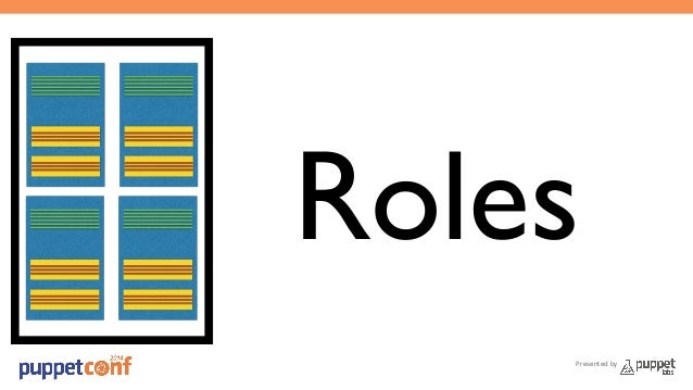 Roles  Presented by