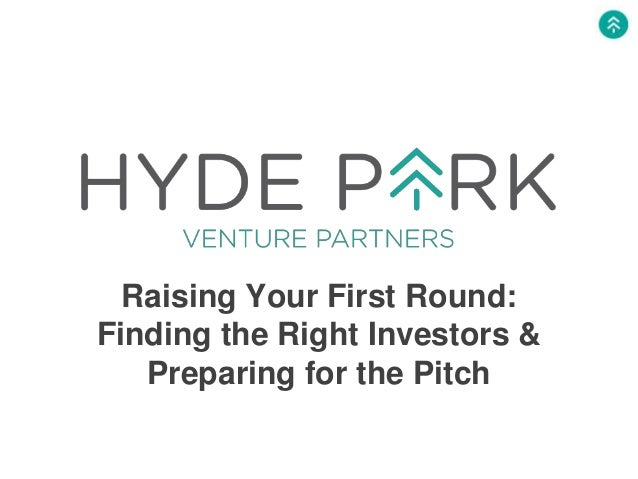Raising Your First Round: Finding the Right Investors & Preparing for the Pitch