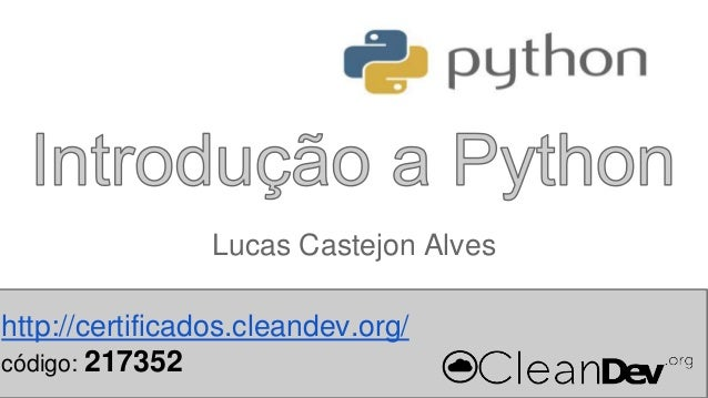 Workshop Python