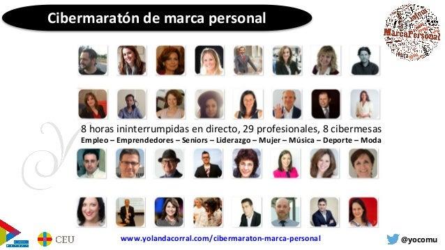 Workshop Marca personal con el foco puesto en la empleabilidad Slide 3