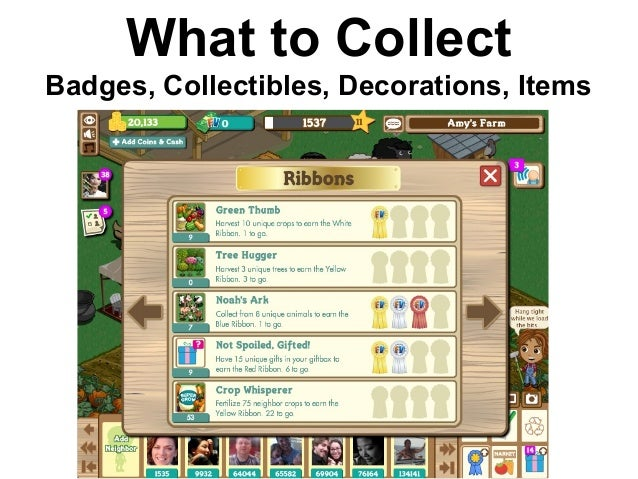 What to Collect Badges, Collectibles, Decorations, Items
