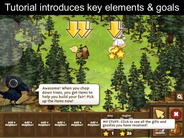 Tutorial introduces key elements & goals