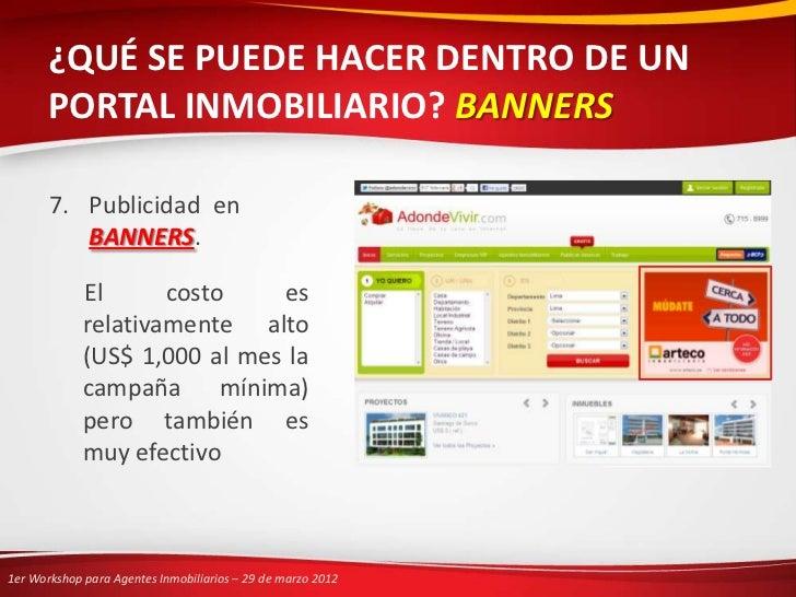 1er workshop para agentes inmobiliarios pedro neira for El portal inmobiliaria