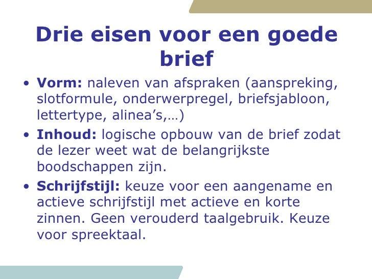 Workshop Schrijven Van Een Brief