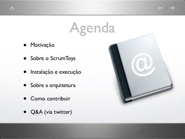 Workshop de Introdução ao ScrumToys Slide 3