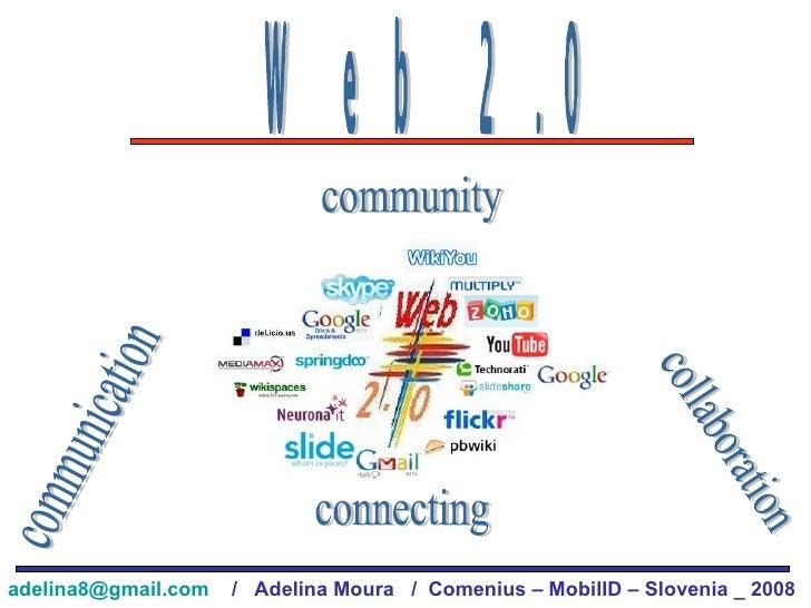Web 2.0 communication collaboration connecting community