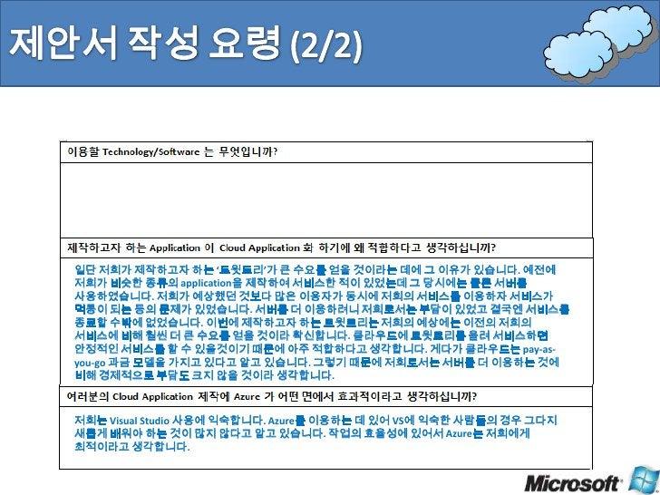 Cloud Computing에의 적용 가능 정도 (40%)