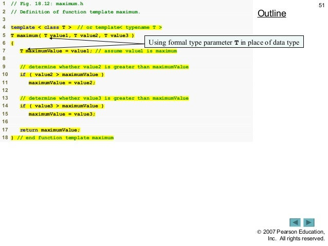 template function specialization - workshop1