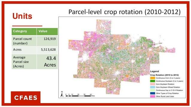 Units Category Value Parcel count (number) 126,919 Acres 5,513,628 Average Parcel size (Acres) 43.4 Acres