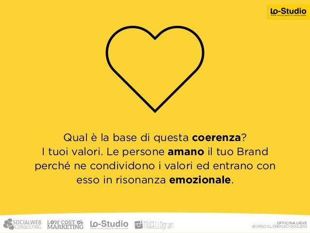 La tua azienda, il tuo brand, il tuo prodotto  il tuo marchio, il tuo sito, la tua comunicazione esprimono i tuoi valori?...