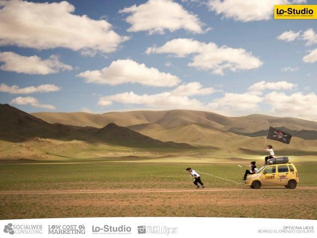 Abbiamo gestito la comunicazione e l'attività  di raccolta fondi per un nostro cliente che ha partecipato al Mongol Rally...