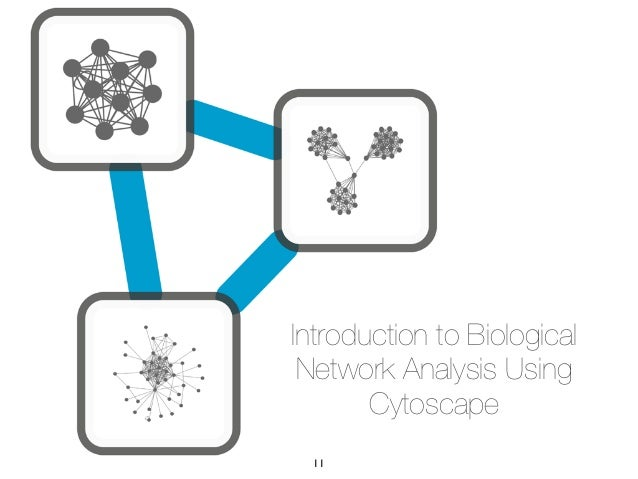 Introduction to Biological Network Analysis Using       Cytoscape 11