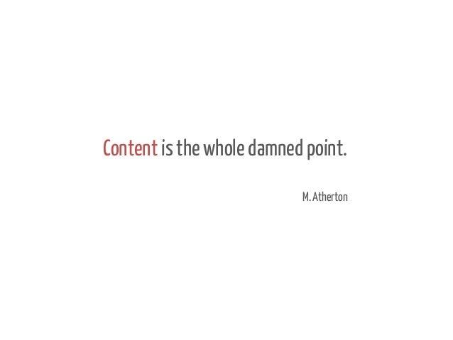 Uno, nessuno e centomila: come rendere adattabile il contenuto ad una realtà di continuo e infinitamente mutabile Slide 2