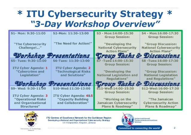 Development of National Cybersecurity Strategy and Organisation Slide 2