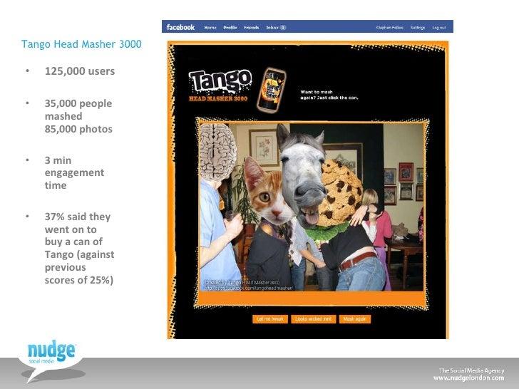 Tango Head Masher 3000 <ul><li>125,000 users </li></ul><ul><li>35,000 people mashed 85,000 photos </li></ul><ul><li>3 min ...