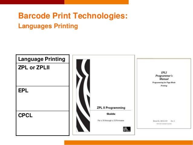 Workshop 2016 Genebank IT - Print Barcode