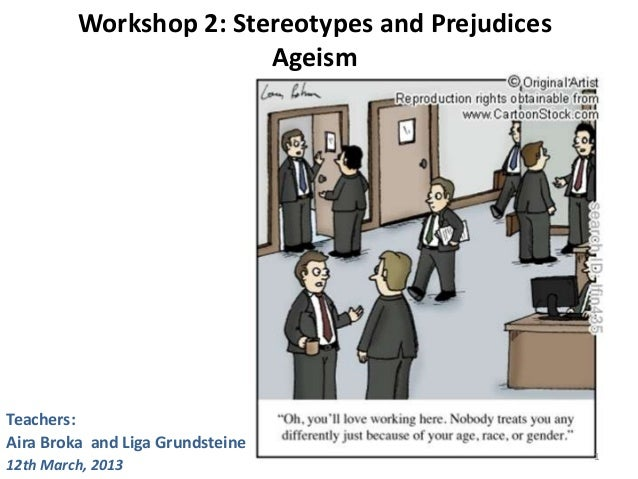Ageist stereotypes