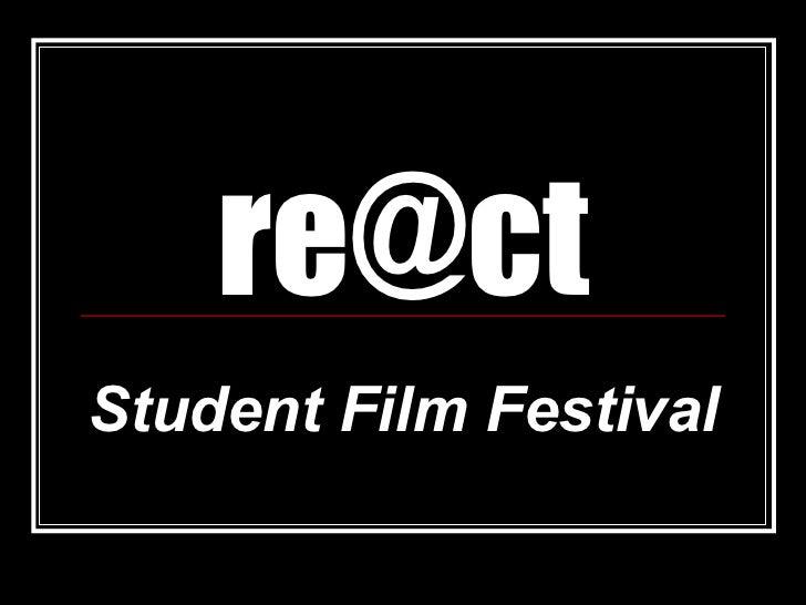 [email_address] Student Film Festival