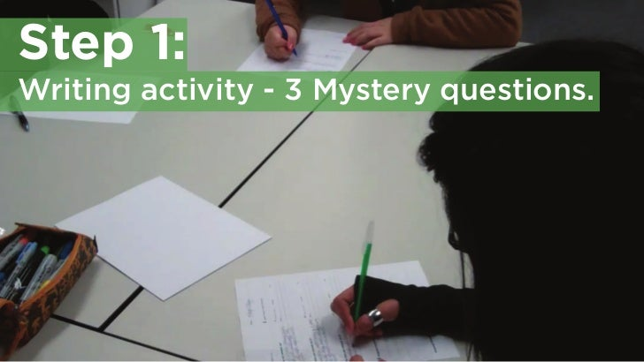 Speed dating activity questions