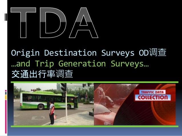 origin and destination survey pdf