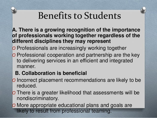 Collaborative Teaching Benefits To Students ~ Workshop collaborative teaching