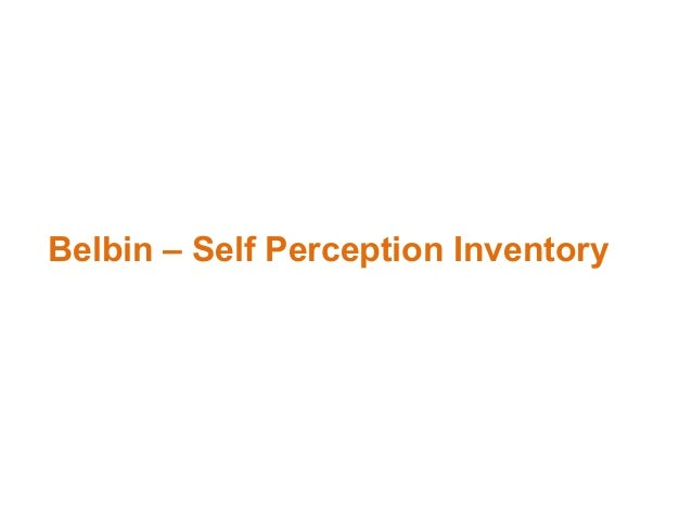 criticisms of belbin s team role self perception inventory Criticisms of belbin s team role self perception inventory teams are a key component of modern work practice this has highlighted the importance of theories.