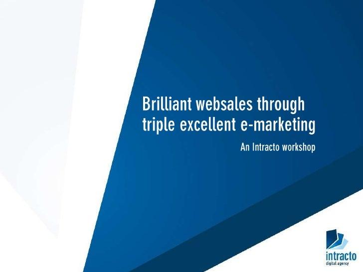 Webdevelopment   E-commerce   E-marketing