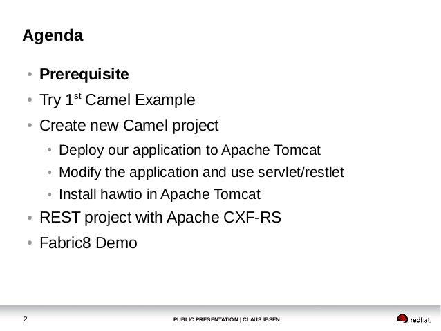 Apache Camel workshop at BarcelonaJUG in January 2014 Slide 2