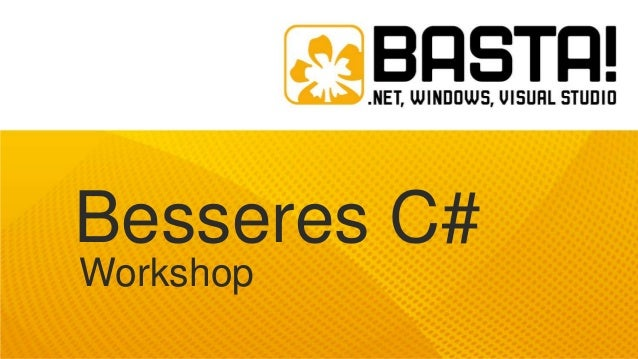 Besseres C# Workshop
