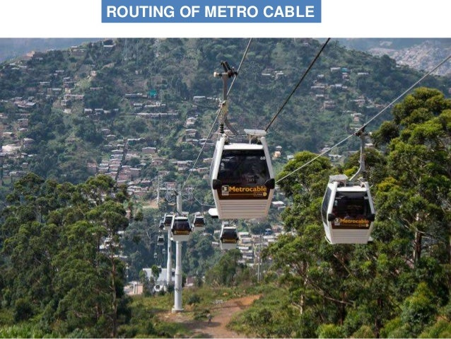 STATIONS & TOWERS : METRO CABLE