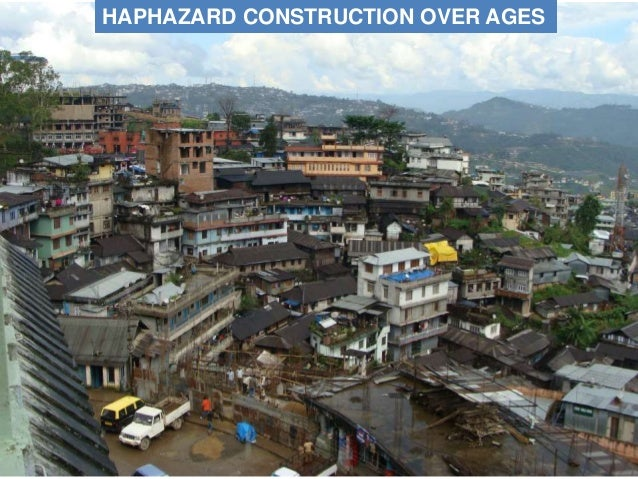 HAPHAZARD CONSTRUCTION OVER AGES