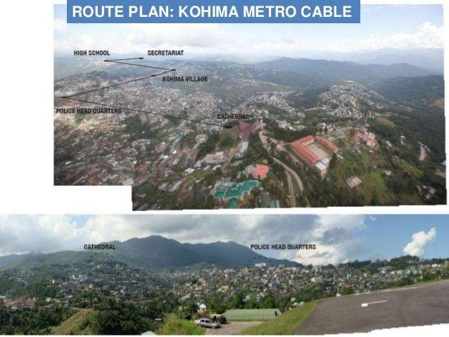 ROUTE PLAN: KOHIMA METRO CABLE