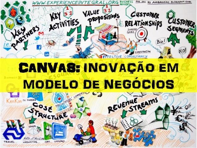 CANVAS: INOVAÇÃO EM MODELO DE NEGÓCIOS