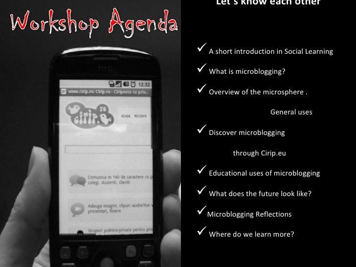 Microblogging in Education Slide 2