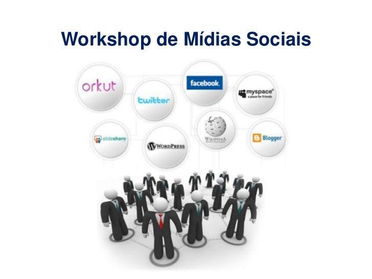 Workshop de Mídias Sociais