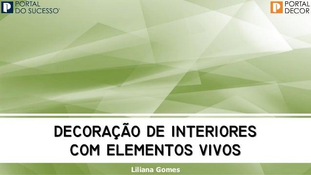   Liliana Gomes