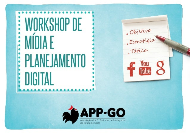 Workshop de mídia e planejamento digital