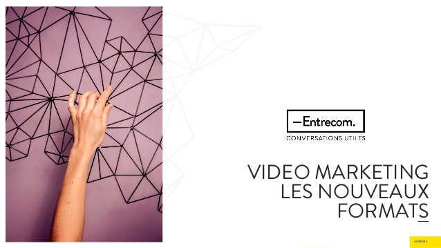 24/09/2015 Septembre 2015 VIDEO MARKETING LES NOUVEAUX FORMATS