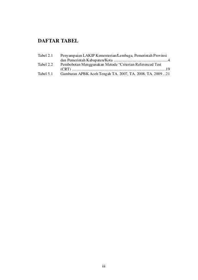 Evaluasi Sistem LAKIP di Daerah Slide 3